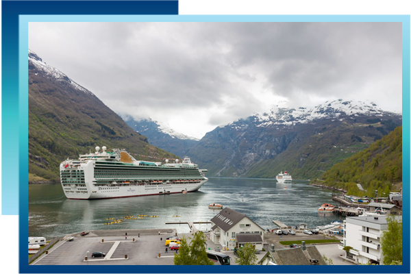 Home cruise ship photo