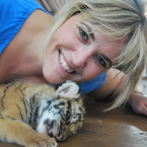 me and tiger